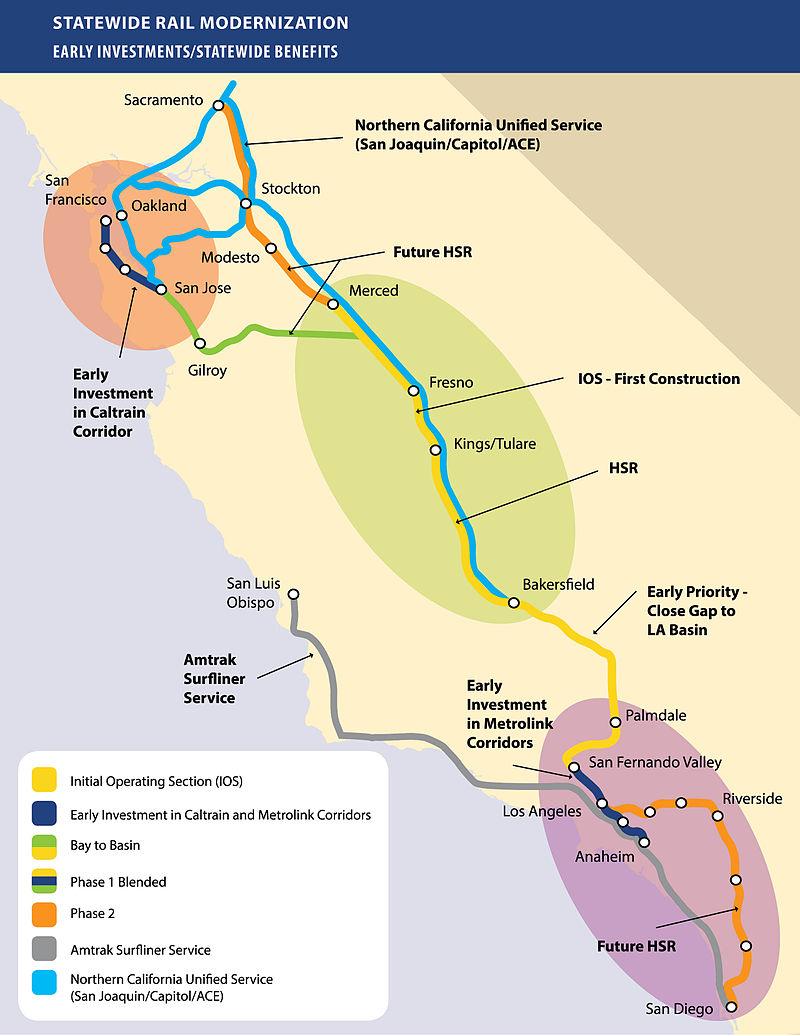 最新国家铁路规划图