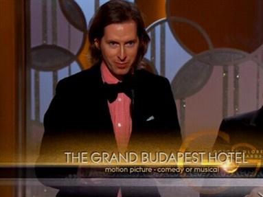 第72届金球奖:《布达佩斯大饭店》夺最佳喜剧类电影