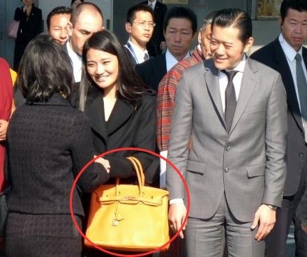 不丹王妃生活照
