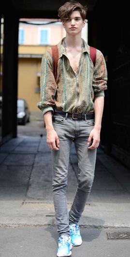 40张街拍图告诉你米兰男人到底有多会穿