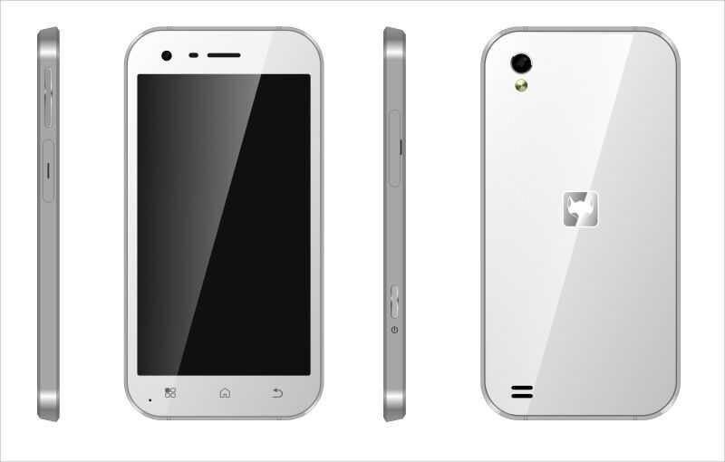 云狐三防手机渲染图曝光:样式与iPhone4s类似