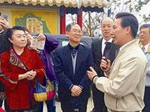 70余名开国将帅子弟访台 胡耀邦之子任团长