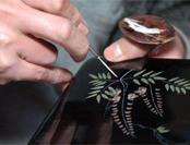 日本推崇匠人精神 三田村家族漆艺传至11代