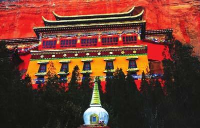 永靖罗家洞寺:赤崖绝壁上的修佛