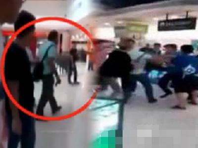 """外籍劳工骂""""华人是猪""""被围殴 多次骚扰华裔女"""