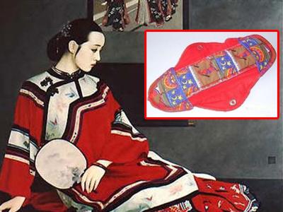 古人生活大揭秘:没有卫生棉如何应付大姨妈?