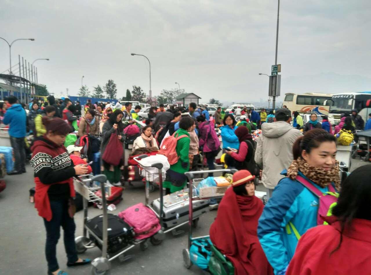 滞留尼泊尔旅客讲诉震后遭遇