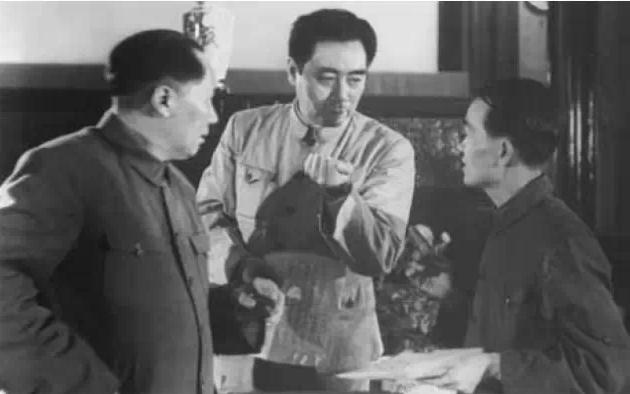 Image result for 邓力群 毛主席
