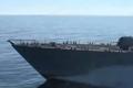 美舰闯中国岛礁前紧急改装 欲海战