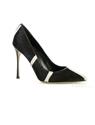 最时髦的Sergio Rossi黑白花纹鞋履