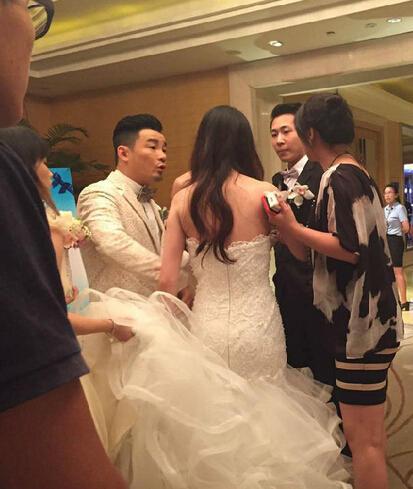 好快手黄勇状况出声音新娘哭喊不结了(图露娜视频婚礼图片