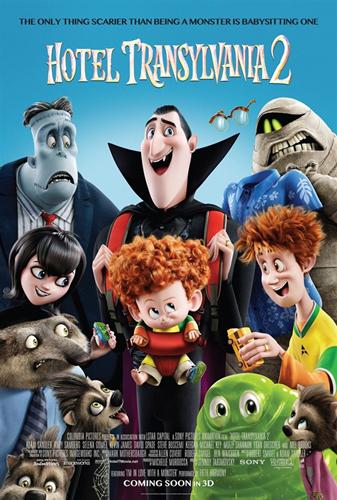北美票房:《精灵旅社2》登顶 打破北美9月开画纪录