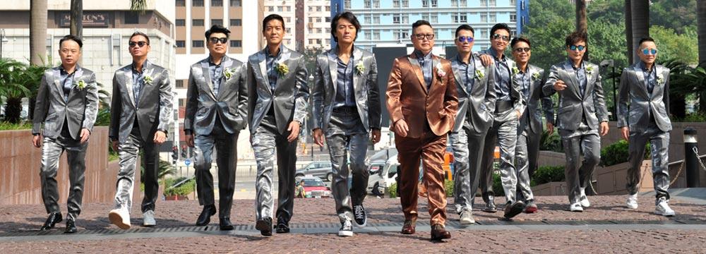 香港的半个娱乐圈在这!当红监制钱国伟大婚