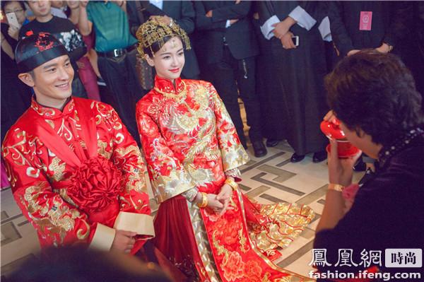深扒Angelababy婚礼妆 配奢华发饰还是淡妆最美!【星美容】