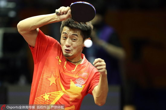 乒球全锦赛男团山东上海争冠 黑龙江山西进女团决赛