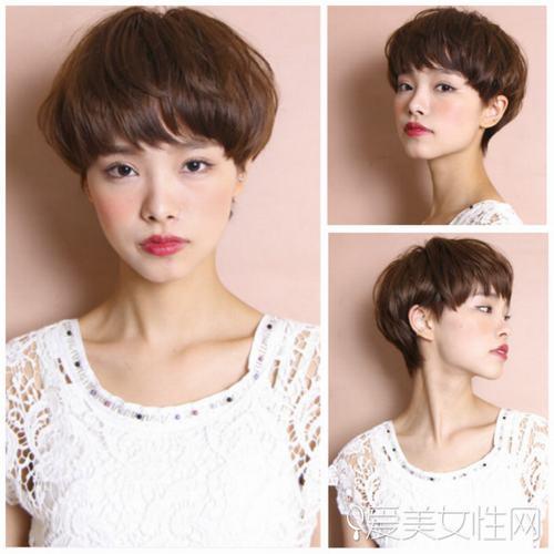 短发儿童模特造型图片