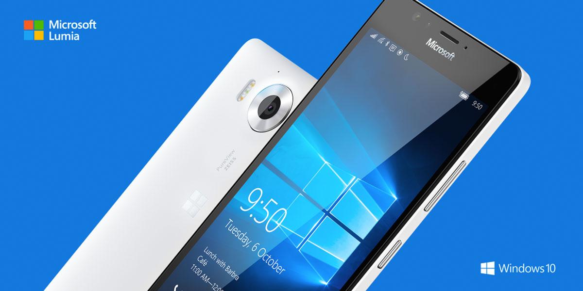 市场行情不理想?微软Lumia 950在英法相继降