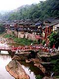 古镇建在河边 一玄机致千年免遭洪水侵袭