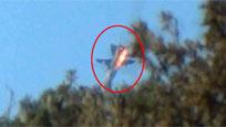 现场视频:实拍俄罗斯战机被土耳其击落