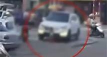 不敢看!实拍女童突然跑到车前被碾死