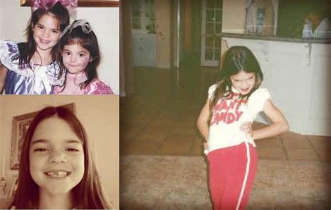泰国ken小时候照片-Kendall幼年照-超模晒童年照 网友 美哭图片