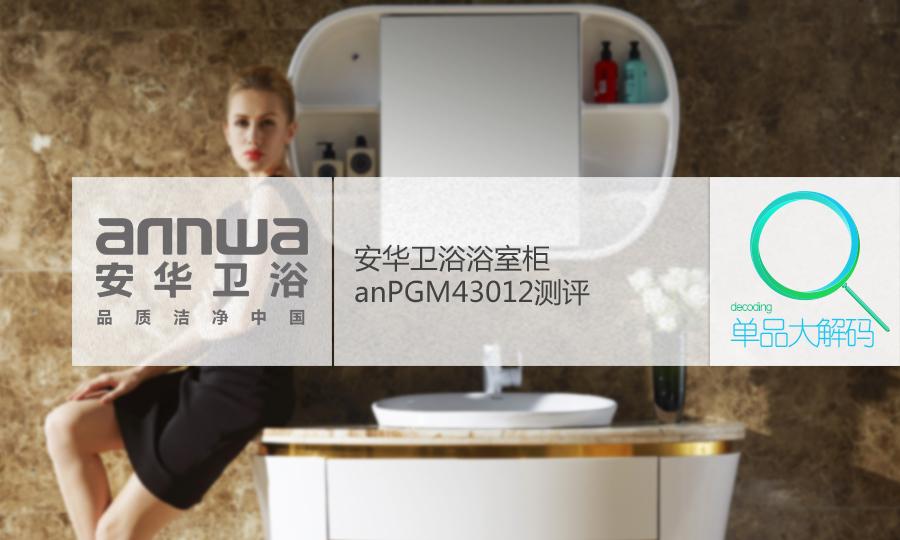 安华卫浴浴室柜anPGM43012