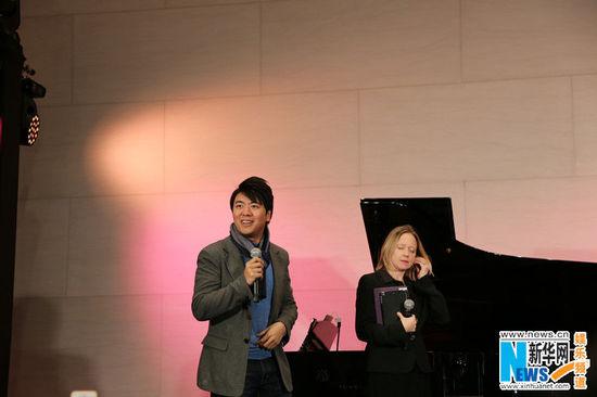 [明星爆料]郎朗现身活动另类教弹琴 为小朋友演奏茉莉花