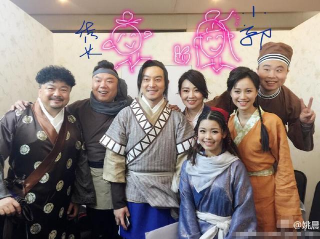 """[明星爆料]武林外传主演十年后同台聚首 """"小贝""""长大变美了"""