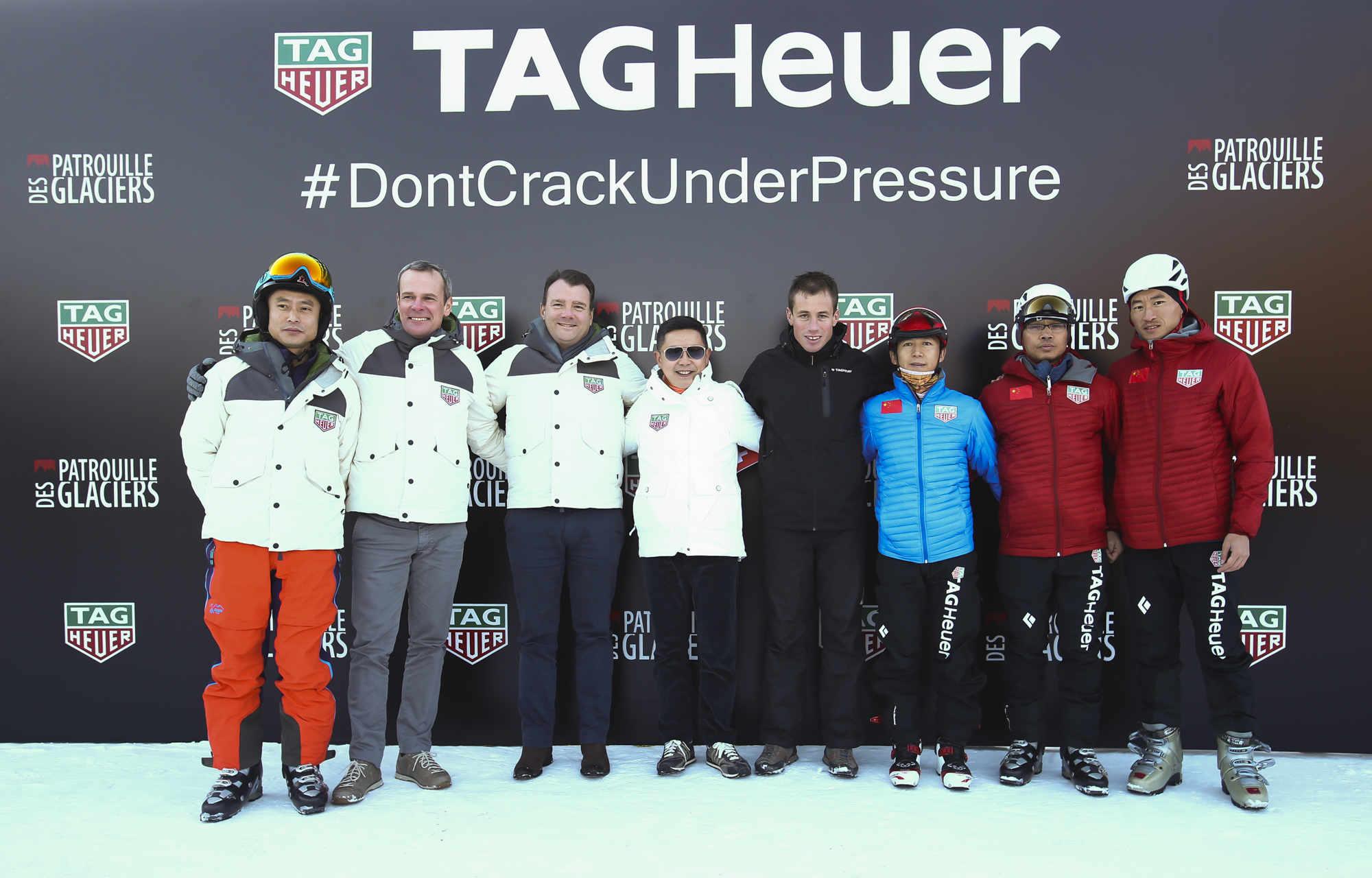 【新珠宝】泰格豪雅正式成为瑞士冰川巡逻滑雪登山赛官方计时