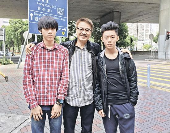 [明星爆料]64岁吴孟达卖房套现养家 小儿子罕见曝光(图)