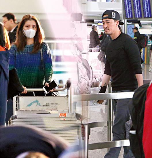 [明星爆料]林峰吴千语赴日滑雪 女友见记者急给男友打电话