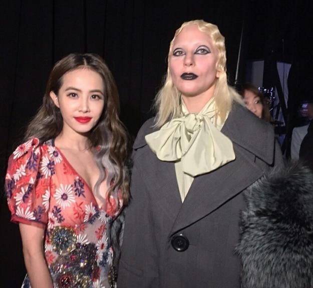 [明星爆料]蔡依林晒与Lady Gaga合影 引粉丝尖叫