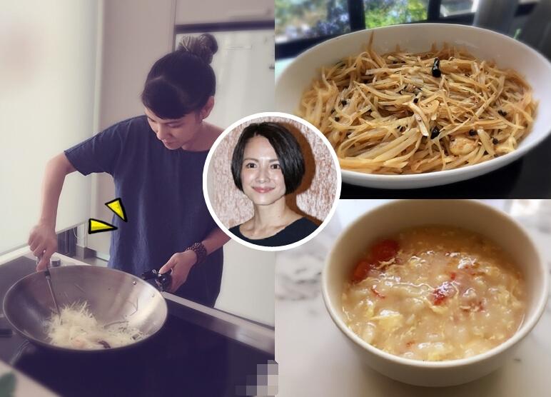 """[明星爆料]40岁李心洁安胎学煮饭 """"大肚照""""首曝光(图)"""
