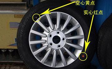 """轮胎上的""""彩色小点""""竟有这么大作用 关乎生命安全"""