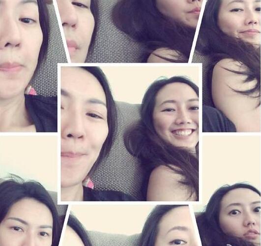 [明星爆料]孙燕姿晒搞怪素颜照 妹妹入镜俨然双胞胎