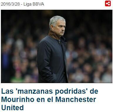《足球先生》:穆里尼奥将清洗曼联4将-穆帅曼联清洗名单曝光 狂人曾