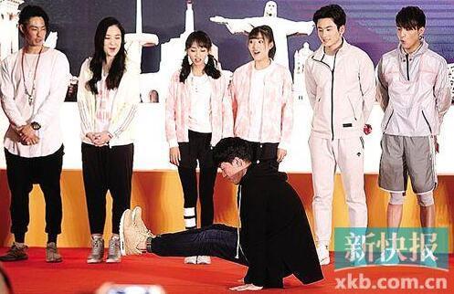 [有看点]刘翔搭档表弟参加真人秀 现场跳舞放得开