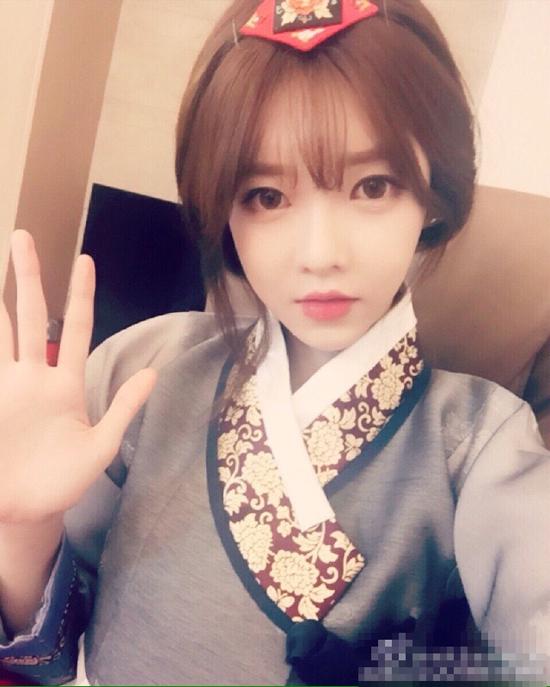 韩国最火网络女主播阿英来中国