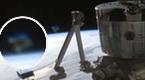 NASA拍摄国际空间站附近再现钻石状UFO