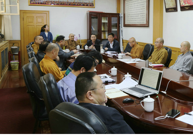 中国佛教协会组织学习全国宗教工作会议精神