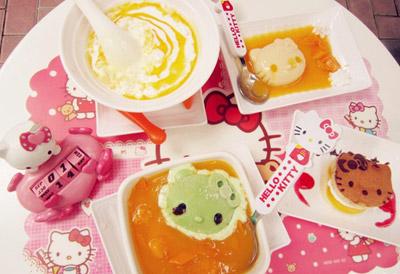 sweets甜品&特饮店 hello kitty主题甜品店