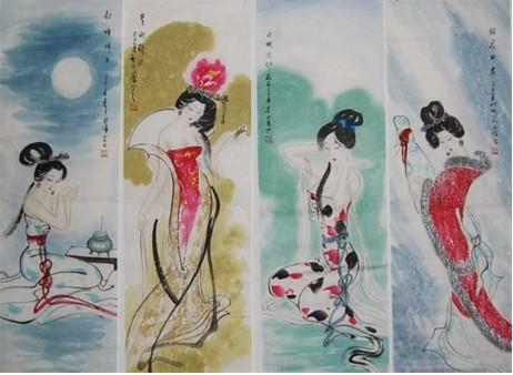 中国古代四大美女杨玉环