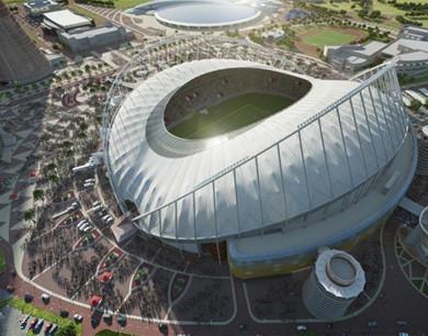2022卡塔尔世界杯场馆效果图发布