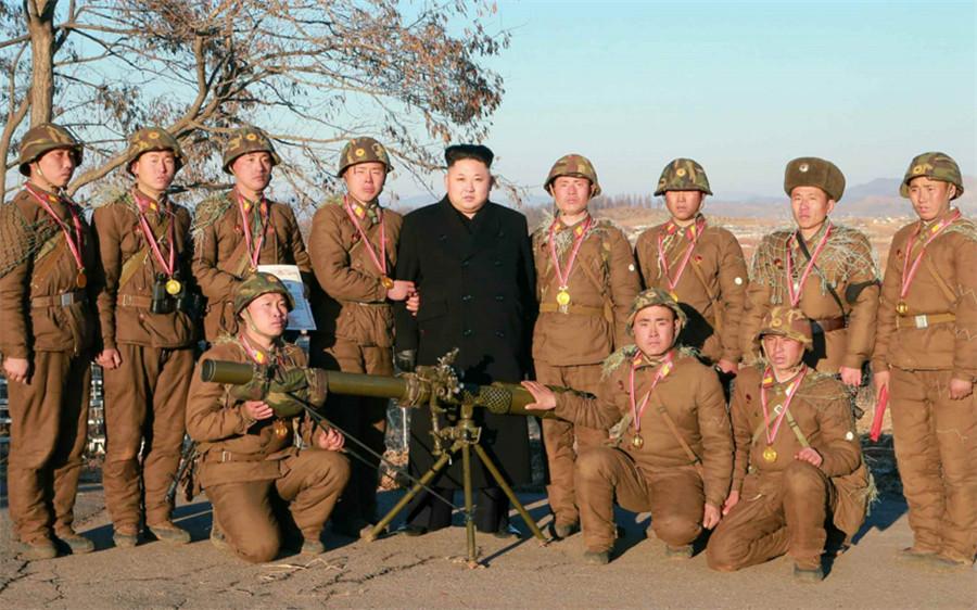 报道称,部队举行射击竞赛的目的是坚持金正恩在新年贺词中提出