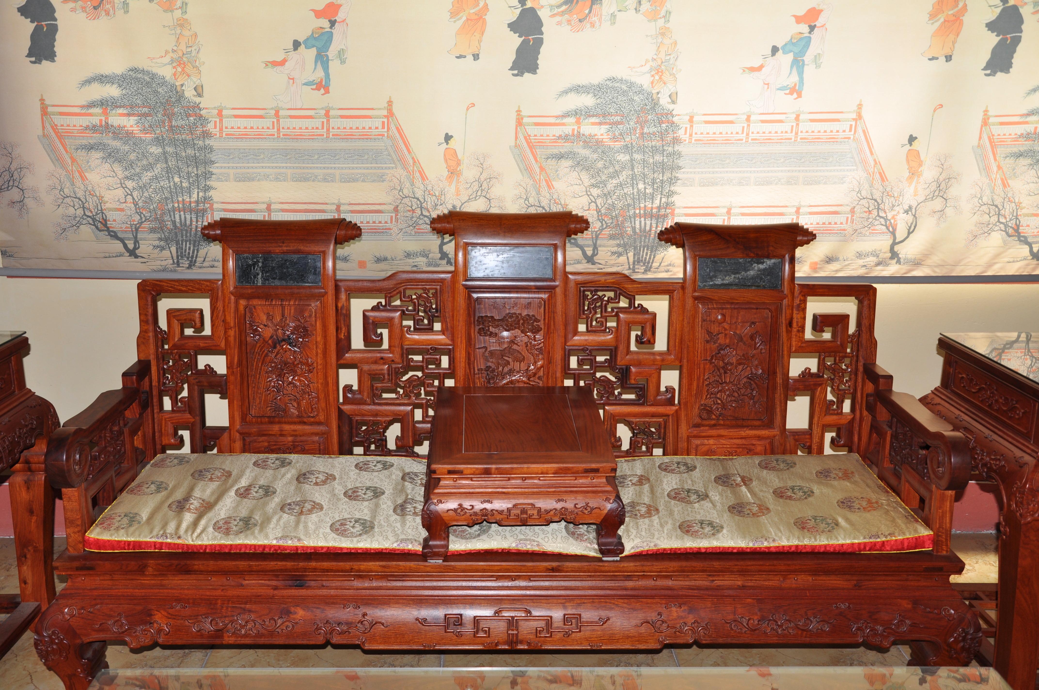 王作红木创始人王义谈红木家具家具厂典佛山盈图片