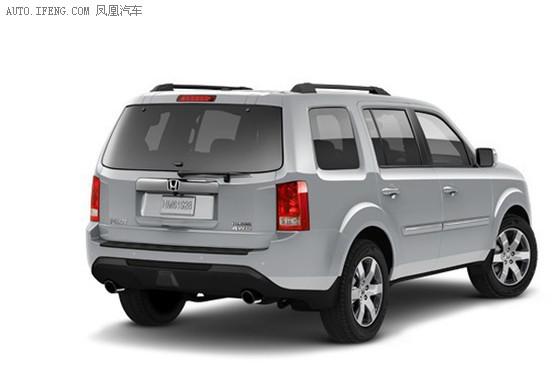 起 2014款本田Pilot SUV发布高清图片