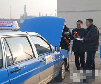 """垦利县对25辆客运车173辆出租车进行""""体检"""""""