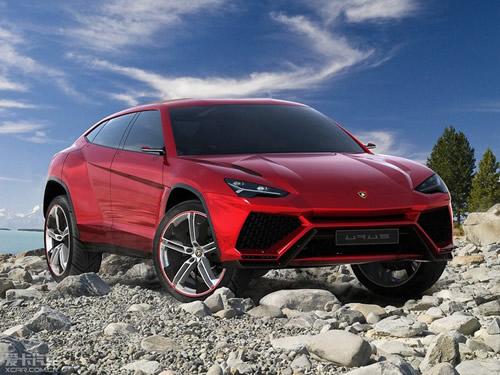 兰博基尼urus概念车   近日,海外媒体报道了兰博基尼suv的相高清图片