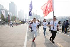 福日集团运动会创新变城市健康跑
