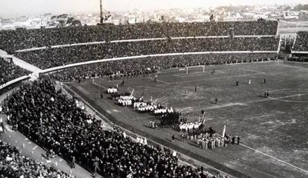 1930第一届世界杯老照片 乌拉圭夺冠(组图)